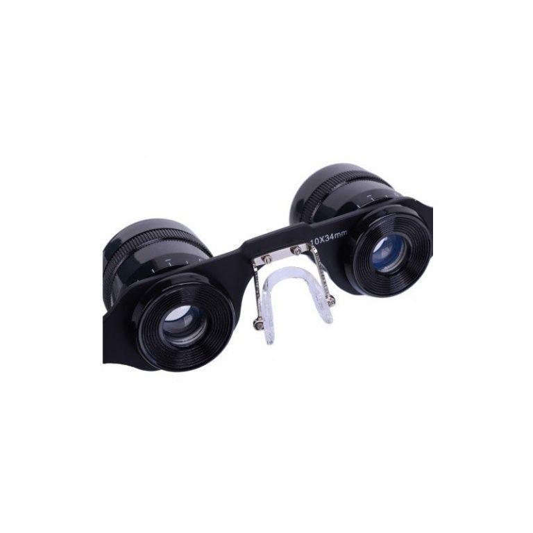 5189 - Телескопические очки-бинокль 10x34 с 10-кратным увеличением, защитой от солнца и небольшим уровнем ночного видения