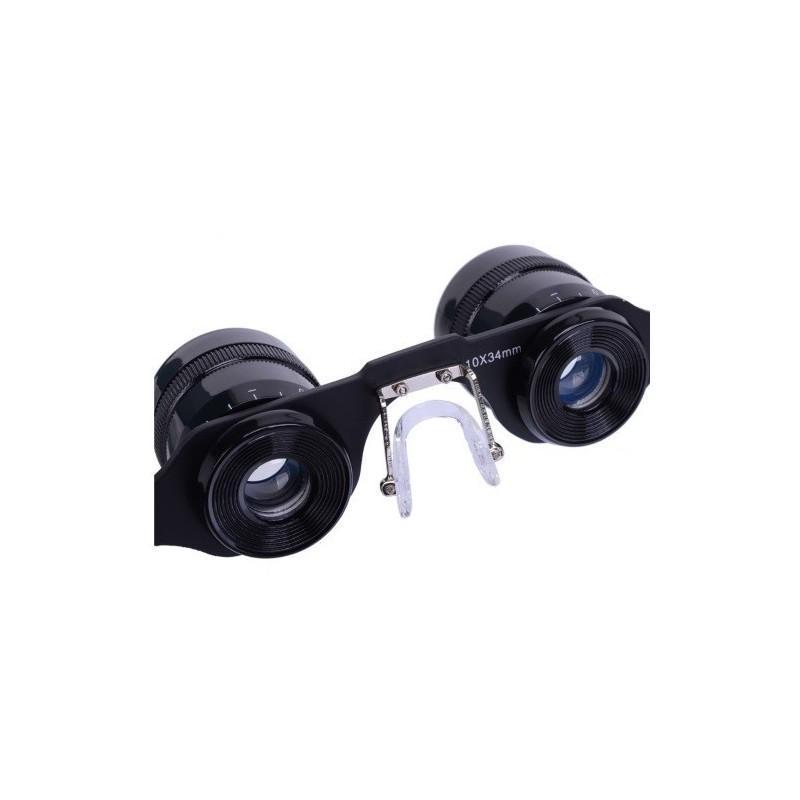Телескопические очки-бинокль 10×34 с 10-кратным увеличением, защитой от солнца и небольшим уровнем ночного видения 187318