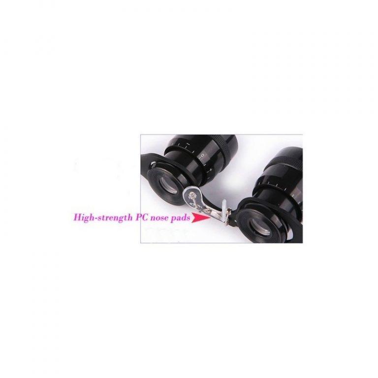5190 - Телескопические очки-бинокль 10x34 с 10-кратным увеличением, защитой от солнца и небольшим уровнем ночного видения