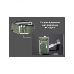 Динамо-машина SunShine DynamoJet Military – 28 В, защищенный корпус (ручная зарядка для ноутбука, раций, аккумуляторов)