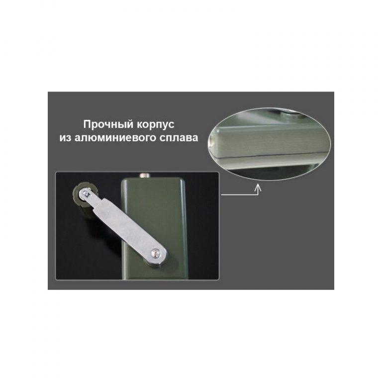 5470 - Динамо-машина SunShine DynamoJet Military - 28 В, защищенный корпус (ручная зарядка для ноутбука, раций, аккумуляторов)