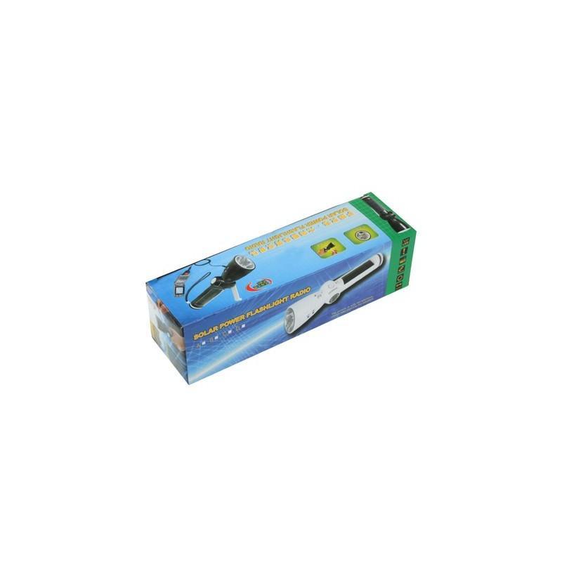 Lux-0202 – светодиодный фонарь (7 LED) + power bank: динамо-машина, солнечная панель, адаптеры для разных устройств 187593
