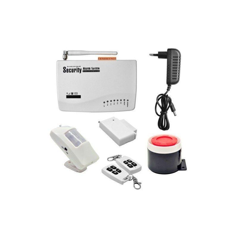 Охранная GSM-система MDC-2020 – SMS-оповещение, сирена, проводные и беспроводные датчики