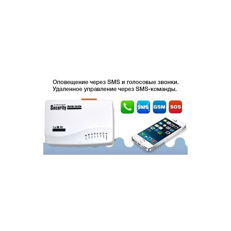 Охранная GSM-система MDC-2020 – SMS-оповещение, сирена, проводные и беспроводные датчики 187652