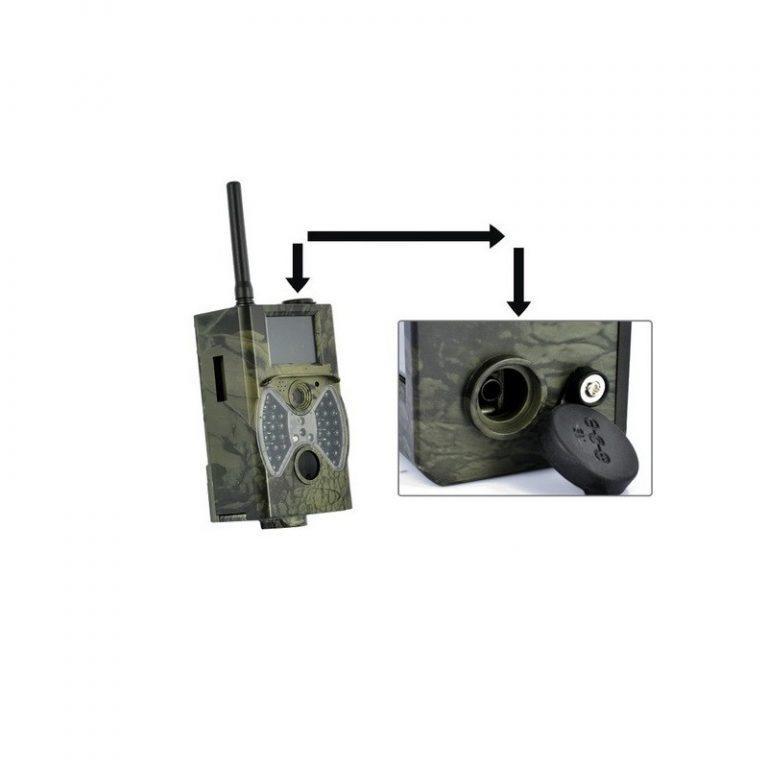 5623 - Охотничья камера Photocatcher   фотоловушка HC300M - видео 1080p, 2 ИК-датчика движения, ночное видение, слежение через MMS