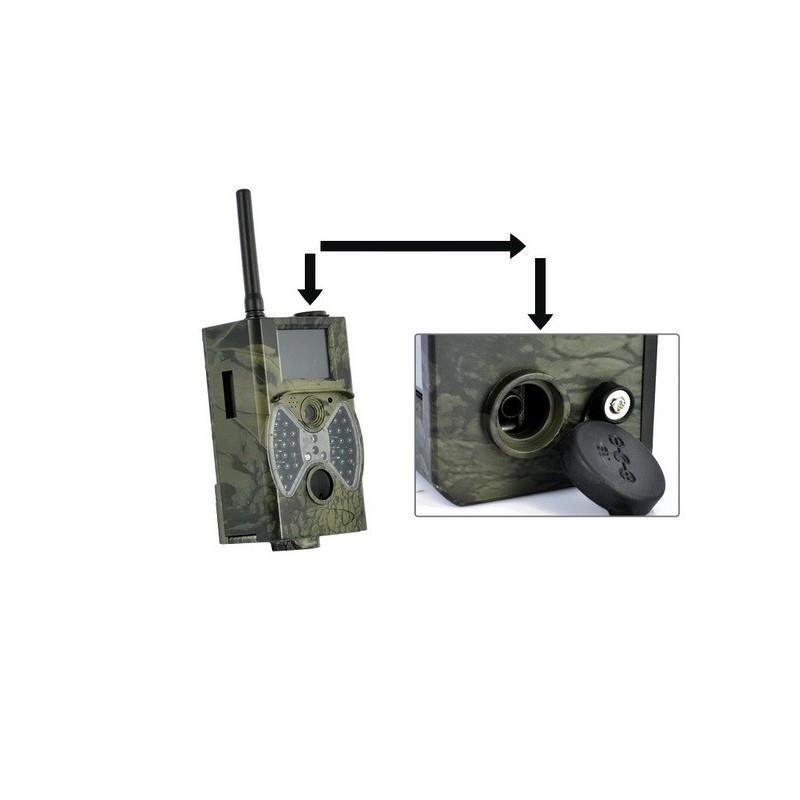 Охотничья камера Photocatcher | фотоловушка HC300M – видео 1080p, 2 ИК-датчика движения, ночное видение, слежение через MMS 187699