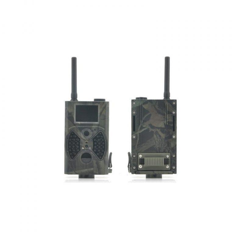 5626 - Охотничья камера Photocatcher   фотоловушка HC300M - видео 1080p, 2 ИК-датчика движения, ночное видение, слежение через MMS