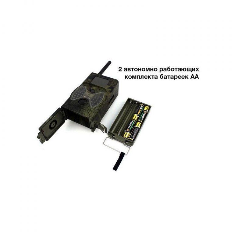 5630 - Охотничья камера Photocatcher   фотоловушка HC300M - видео 1080p, 2 ИК-датчика движения, ночное видение, слежение через MMS