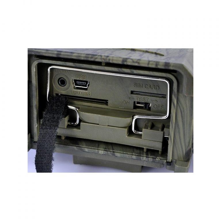 5631 - Охотничья камера Photocatcher   фотоловушка HC300M - видео 1080p, 2 ИК-датчика движения, ночное видение, слежение через MMS