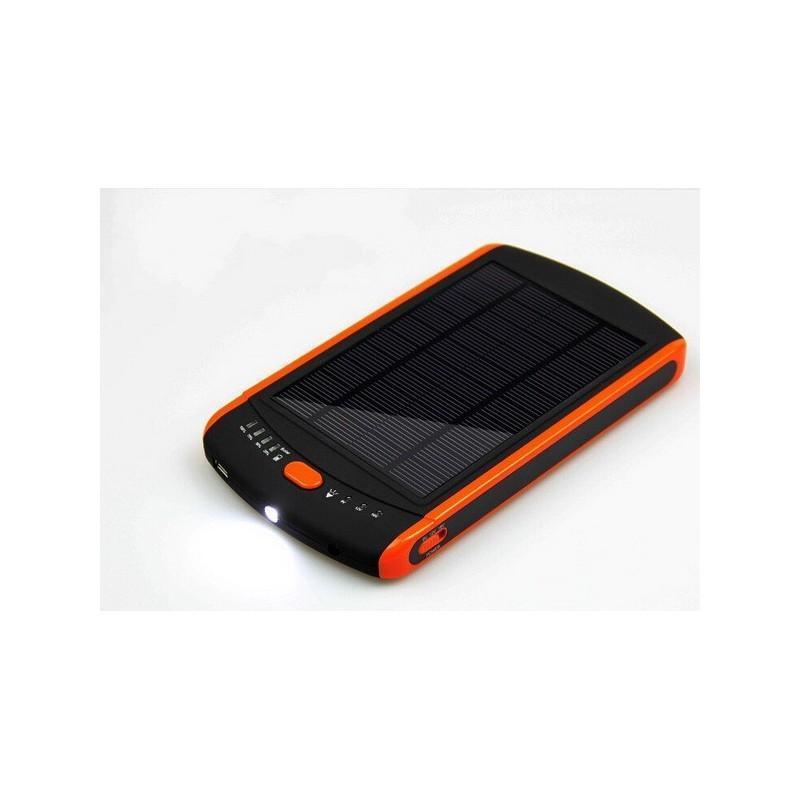 Универсальная солнечная зарядка/внешний аккумулятор 23 000 мАч SolarJet S32 ECO, 5-19В  (поддерживает ноутбуки и планшеты) 187713