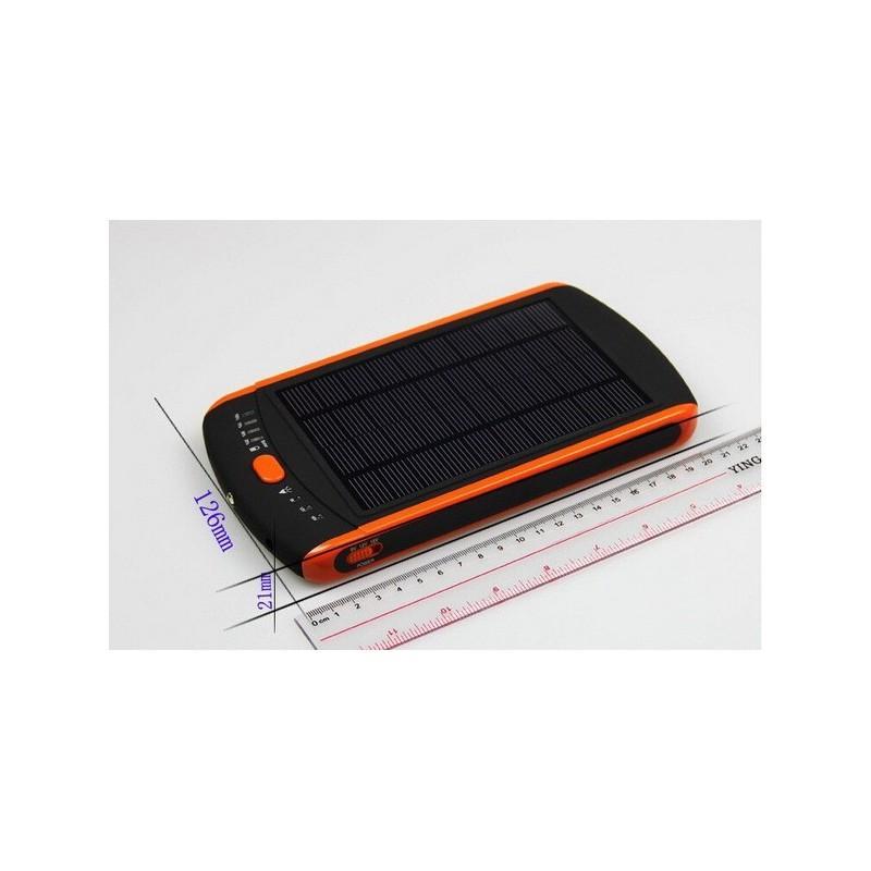 Универсальная солнечная зарядка/внешний аккумулятор 23 000 мАч SolarJet S32 ECO, 5-19В  (поддерживает ноутбуки и планшеты) 187714