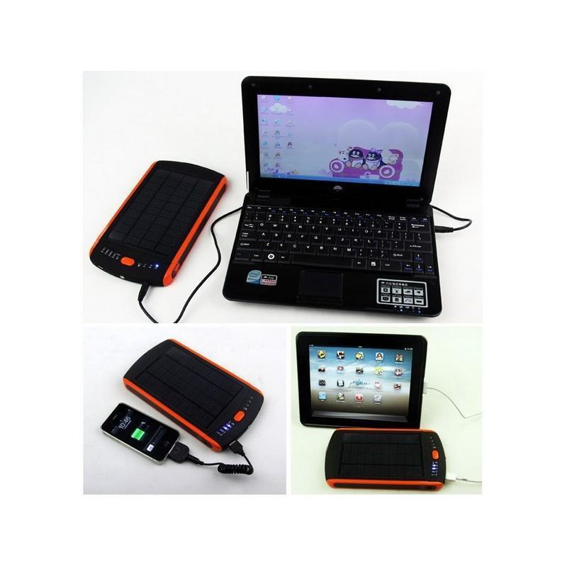 Универсальная солнечная зарядка/внешний аккумулятор 23 000 мАч SolarJet S32 ECO, 5-19В  (поддерживает ноутбуки и планшеты) 187715