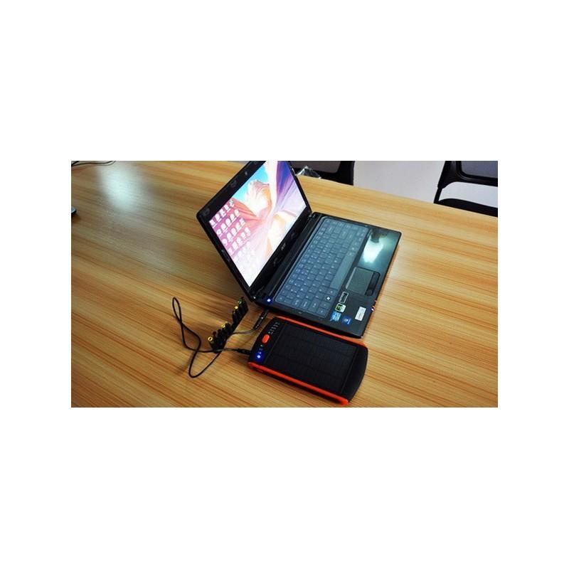Универсальная солнечная зарядка/внешний аккумулятор 23 000 мАч SolarJet S32 ECO, 5-19В  (поддерживает ноутбуки и планшеты) 187718
