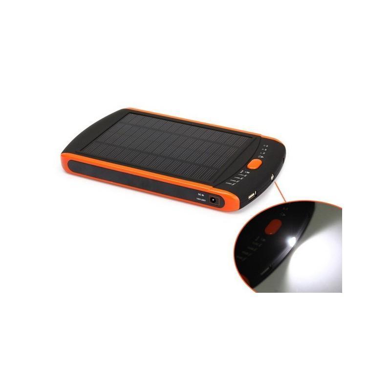 Универсальная солнечная зарядка/внешний аккумулятор 23 000 мАч SolarJet S32 ECO, 5-19В  (поддерживает ноутбуки и планшеты) 187720