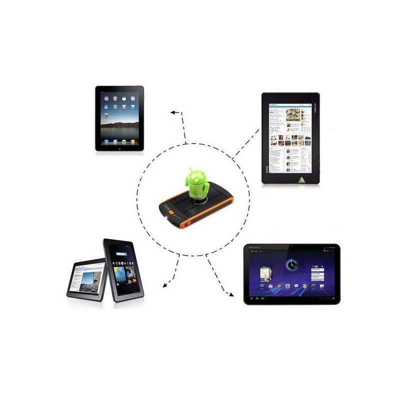 Универсальная солнечная зарядка/внешний аккумулятор 23 000 мАч SolarJet S32 ECO, 5-19В  (поддерживает ноутбуки и планшеты) 187721
