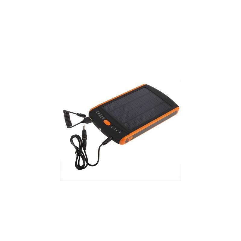 Универсальная солнечная зарядка/внешний аккумулятор 23 000 мАч SolarJet S32 ECO, 5-19В  (поддерживает ноутбуки и планшеты) 187725