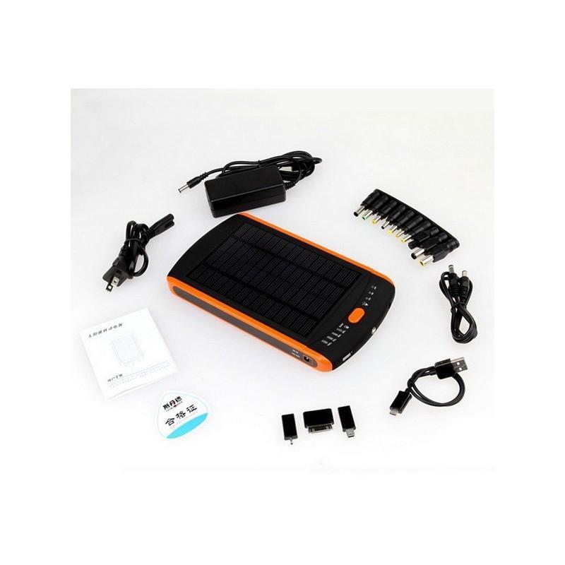 Универсальная солнечная зарядка/внешний аккумулятор 23 000 мАч SolarJet S32 ECO, 5-19В  (поддерживает ноутбуки и планшеты) 187728