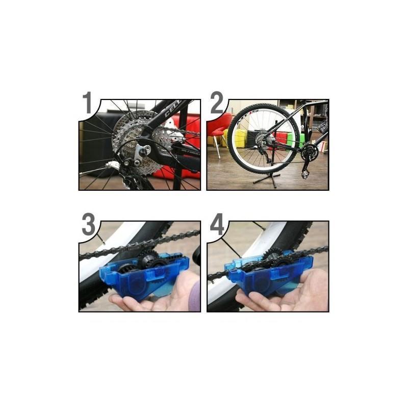 Прибор для очистки велосипедной цепи OG-0488 187767