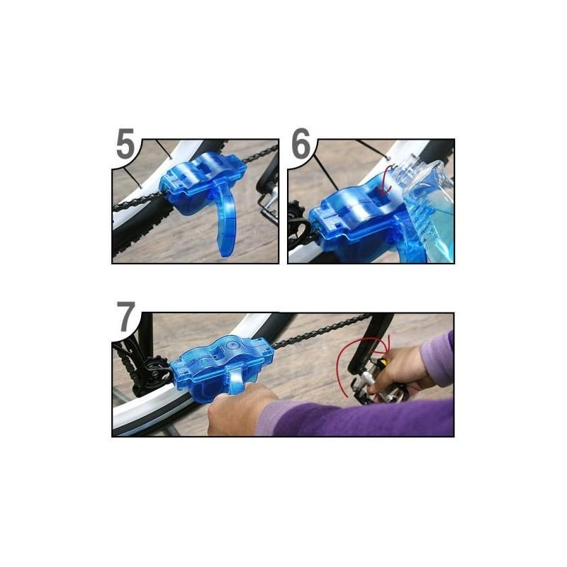 Прибор для очистки велосипедной цепи OG-0488 187768