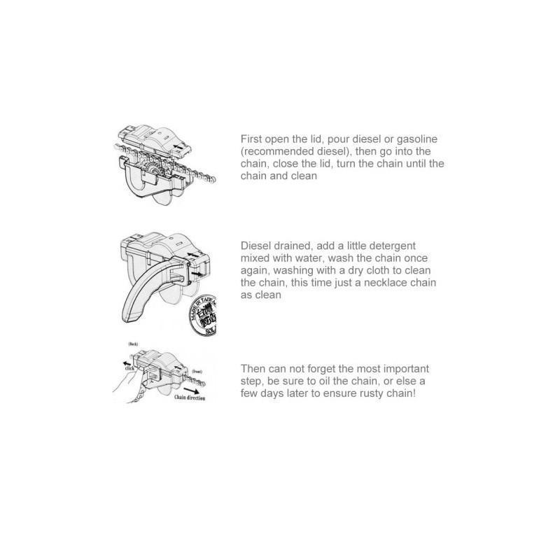 Прибор для очистки велосипедной цепи OG-0488 187769