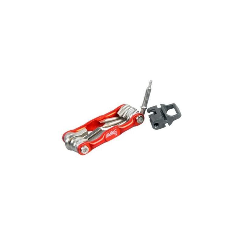 Мультитул 11 в 1 для велосипеда OG-0340 – алюминиевый сплав