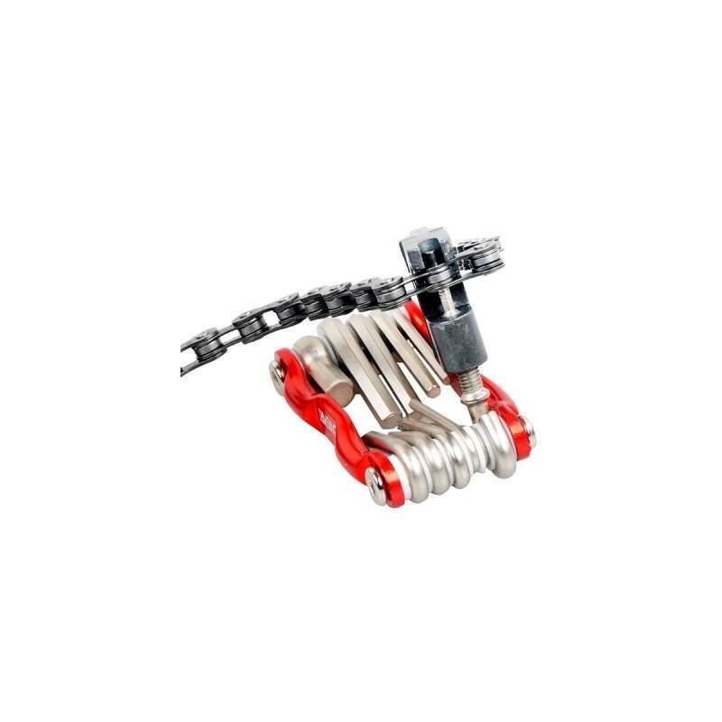 Мультитул 11 в 1 для велосипеда OG-0340 – алюминиевый сплав 187784