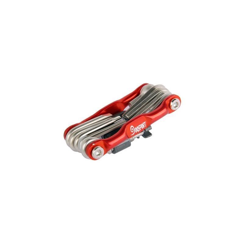 Мультитул 11 в 1 для велосипеда OG-0340 – алюминиевый сплав 187791