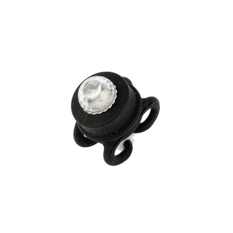 Светодиодные цветные фонари OG-0092B (черные) – 2 штуки, 2 режима света, задний велосипедный фонарь 187798