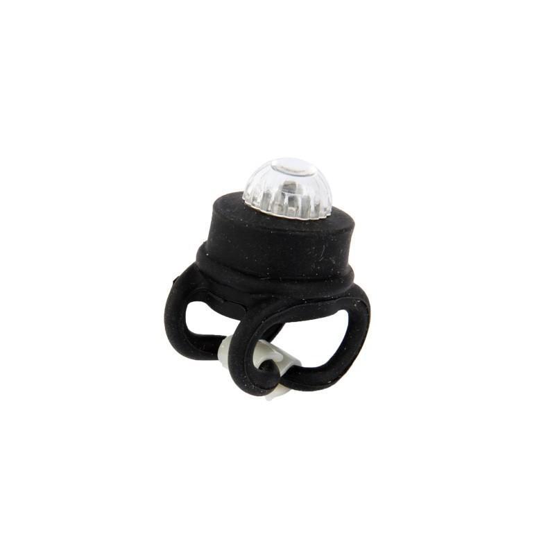 Светодиодные цветные фонари OG-0092B (черные) – 2 штуки, 2 режима света, задний велосипедный фонарь 187799