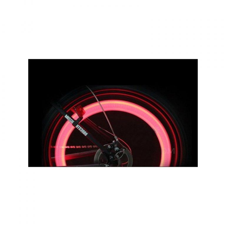 5763 - Силиконовая светодиодная подсветка для спиц колеса велосипеда OG-0065