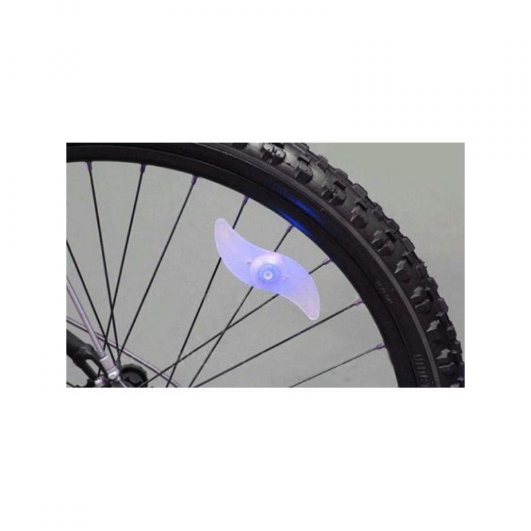 5764 - Силиконовая светодиодная подсветка для спиц колеса велосипеда OG-0065