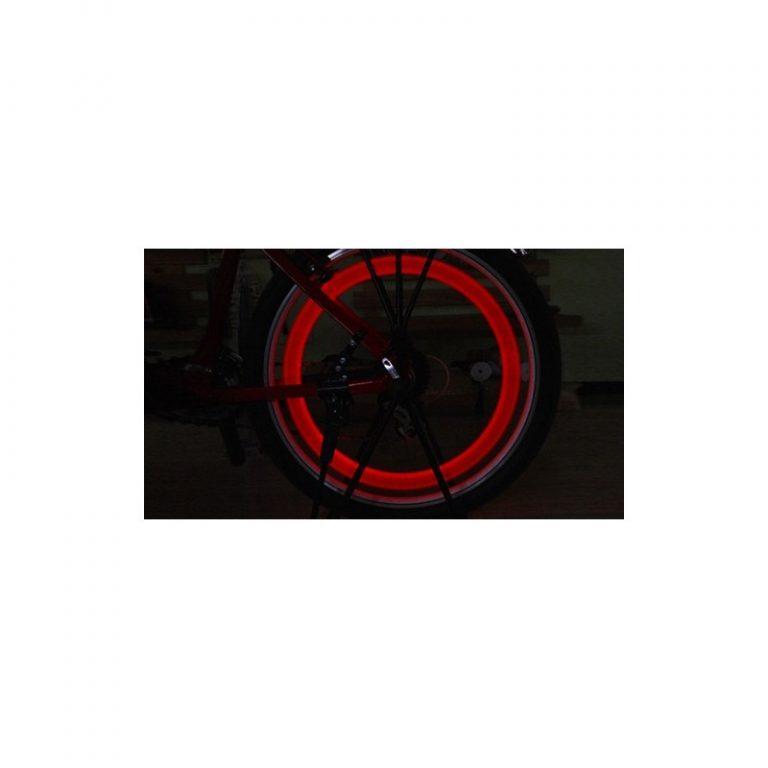 5765 - Силиконовая светодиодная подсветка для спиц колеса велосипеда OG-0065