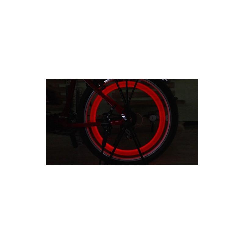 Силиконовая светодиодная подсветка для спиц колеса велосипеда OG-0065 187827