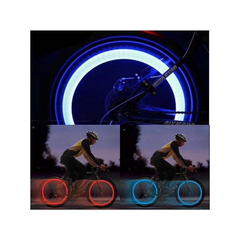 Силиконовая светодиодная подсветка для спиц колеса велосипеда OG-0065 187837