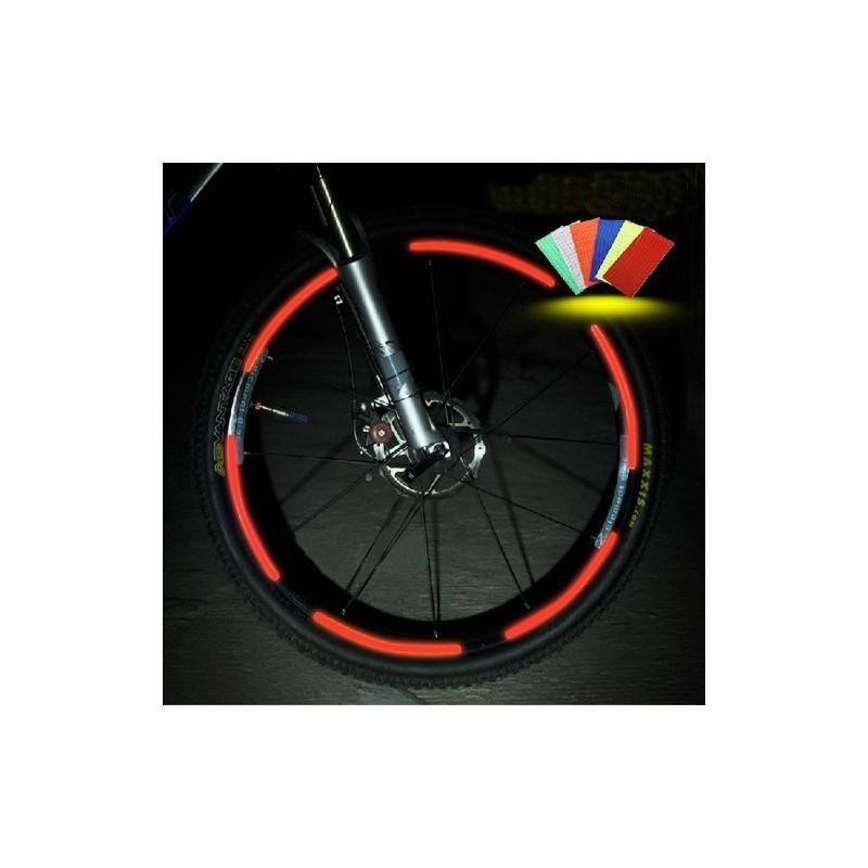 Светоотражающие наклейки для колеса велосипеда OG-0029
