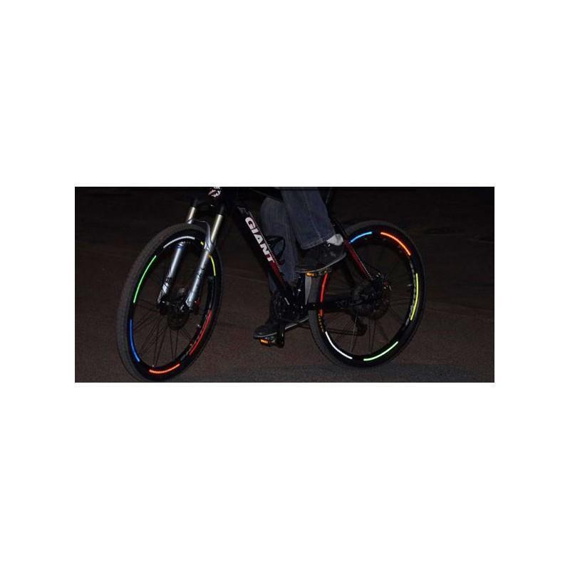 Светоотражающие наклейки для колеса велосипеда OG-0029 187844