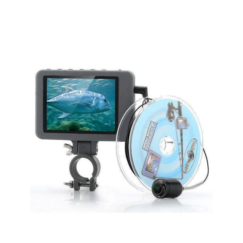 Подводная камера для рыбалки OG15-2GEN – монитор 3,5 дюйма, 2 мегапикселя, глубина до 20 м