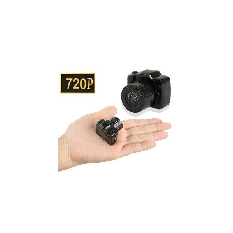 Самая маленькая камера Y3000 HD – 720р, 2 МП, Micro SD