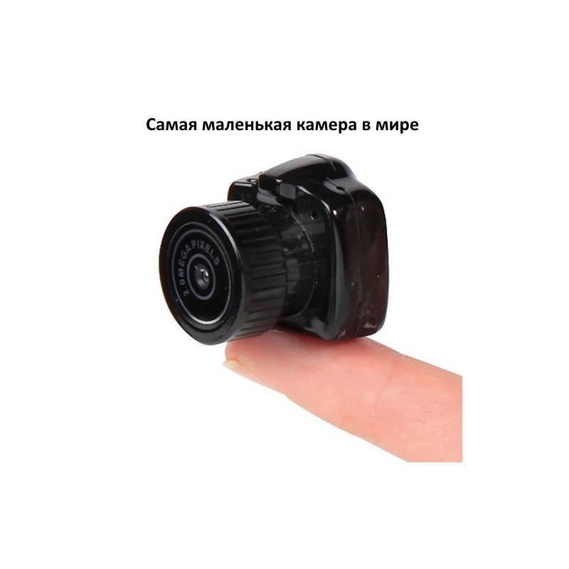 Самая маленькая камера Y3000 HD – 720р, 2 МП, Micro SD 183679