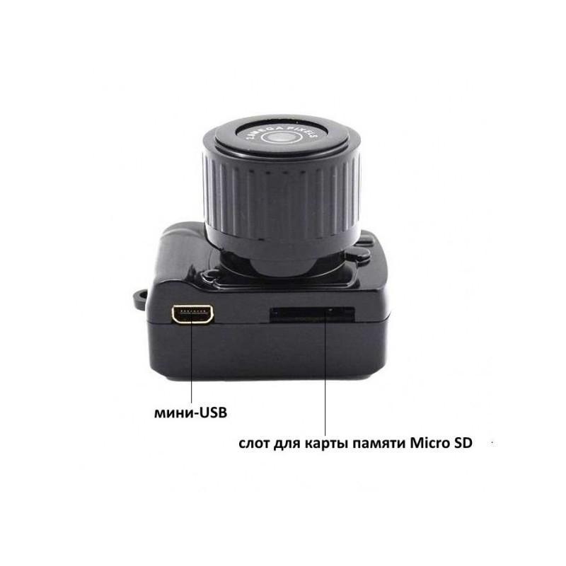 Самая маленькая камера Y3000 HD – 720р, 2 МП, Micro SD 183680