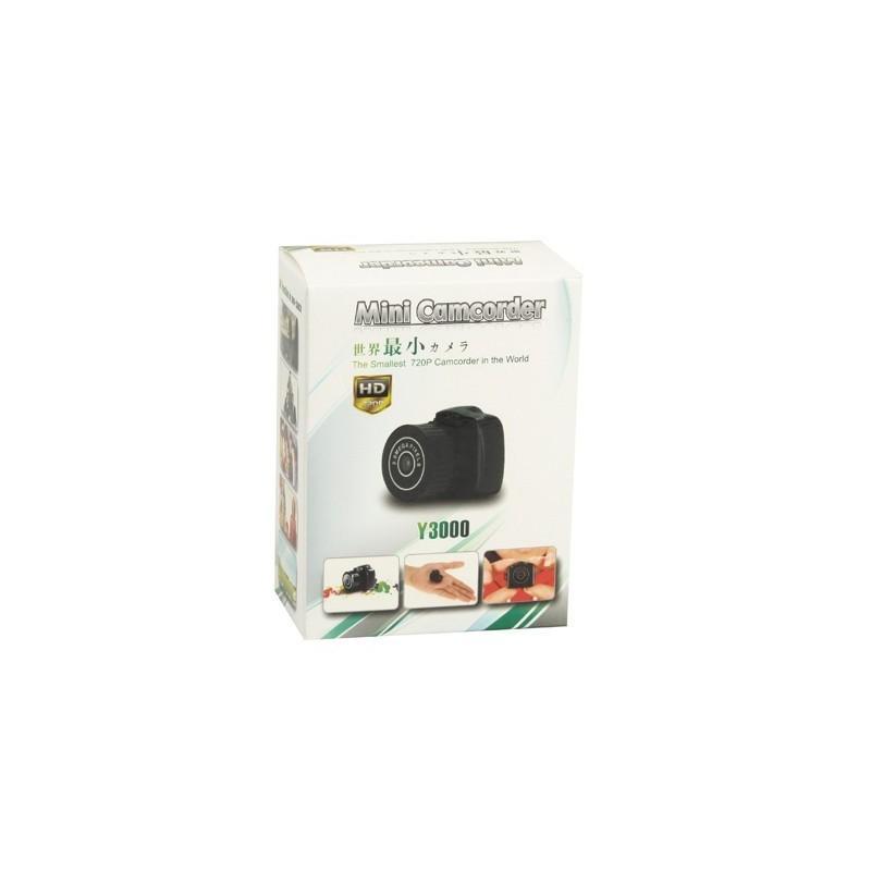 Самая маленькая камера Y3000 HD – 720р, 2 МП, Micro SD 183682