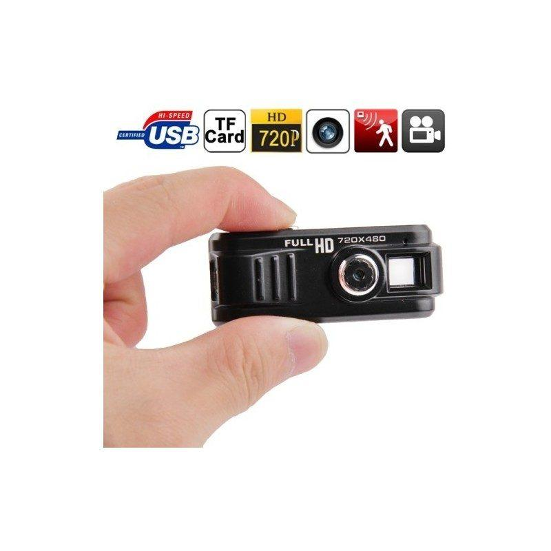 Мини-камера Full HD R-0122, 720p, карты Micro SD, 80 мин. Автономно