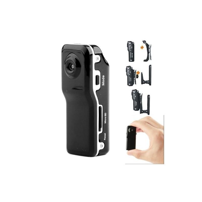 Мини-камера MD80, датчик звука, 720p, до 250 часов работы, Micro SD