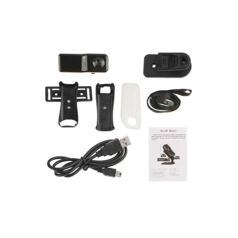Мини-камера MD80, датчик звука, 720p, до 250 часов работы, Micro SD 183696