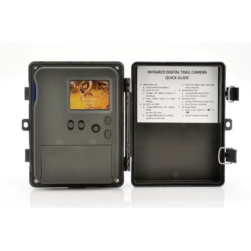Автономная наружная GSM-камера наблюдения Photohunter OG-27 (датчик движения, ночное видение, солнечная панель, отправка MMS) 188057