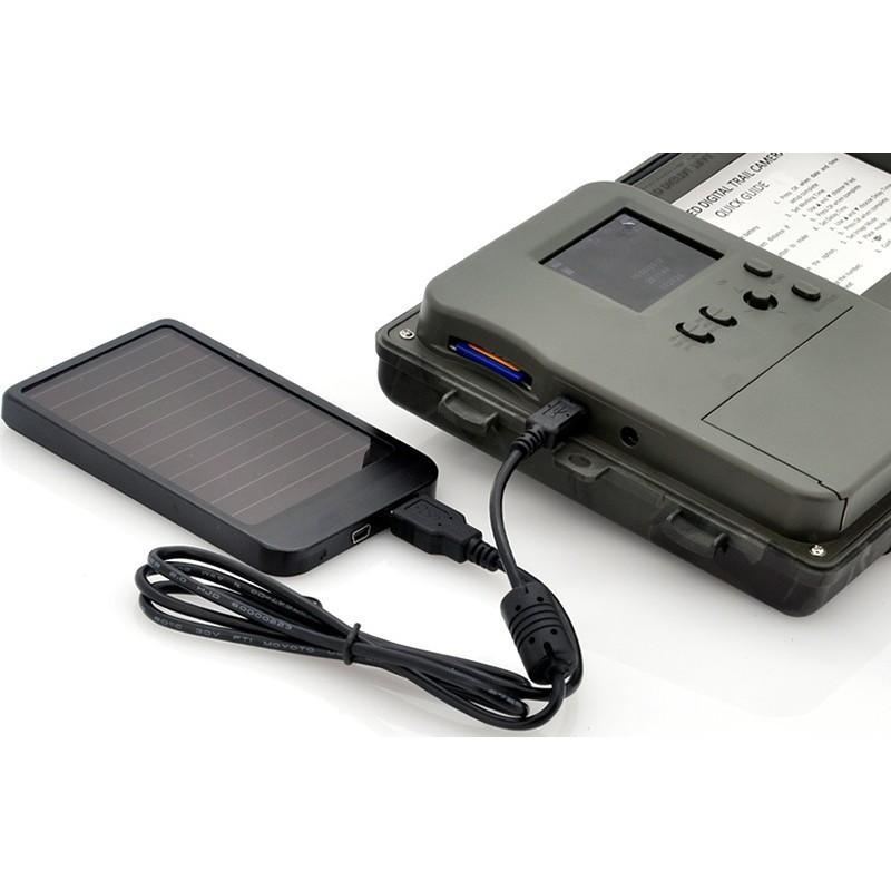 Автономная наружная GSM-камера наблюдения Photohunter OG-27 (датчик движения, ночное видение, солнечная панель, отправка MMS) 188059
