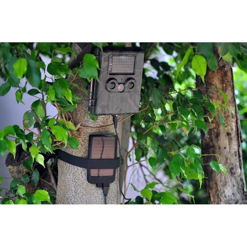 Автономная наружная GSM-камера наблюдения Photohunter OG-27 (датчик движения, ночное видение, солнечная панель, отправка MMS) 188063