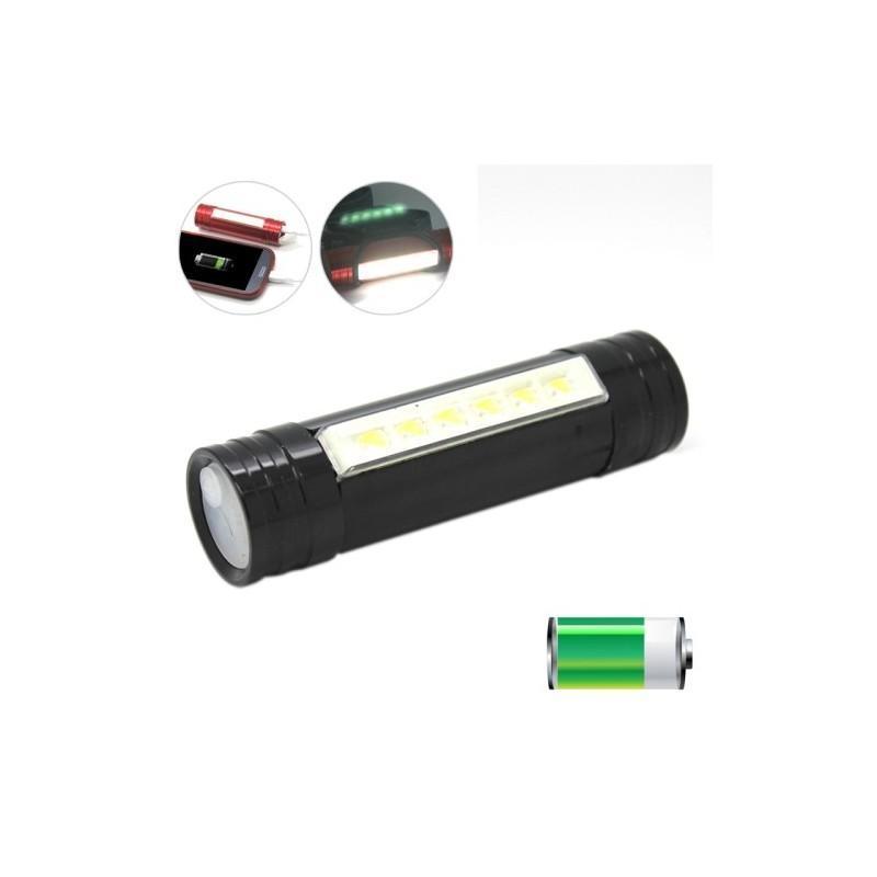 """3-в-1 фонарь-аккумулятор  """"Prometheus"""": налобный фонарь + яркий кемпинговый фонарь + внешний USB аккумулятор 188067"""
