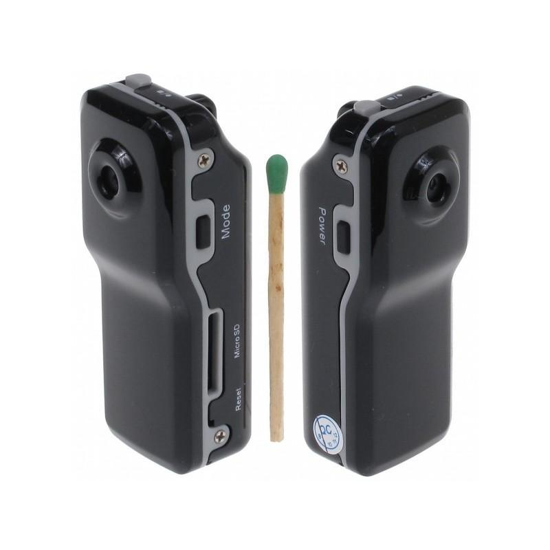 Мини-камера MD80, датчик звука, 720p, до 250 часов работы, Micro SD 183700