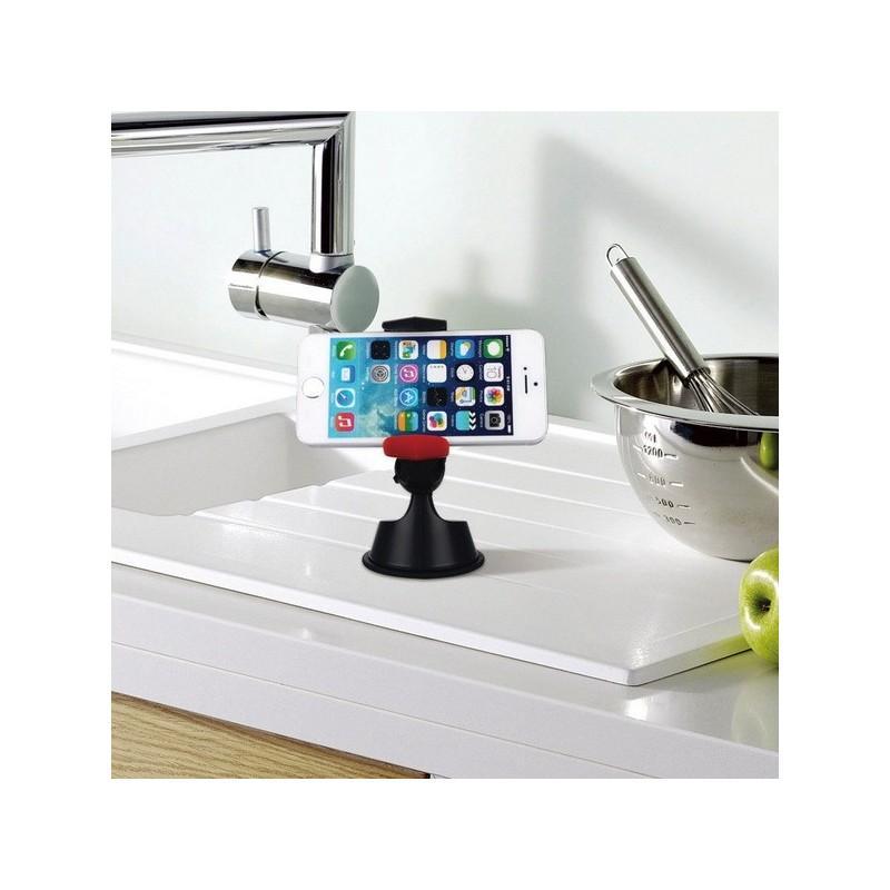 Универсальный кронштейн с присоской – для iPhone/смартфонов/MP4/PDA 188140